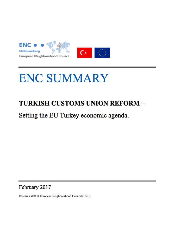ENC Summary_Customs Union