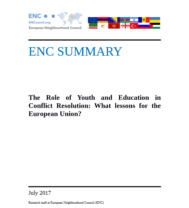 Capture Youth Education Conflict
